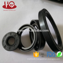 NBR/Viton/PTFE/EPDM/FKM Rubber Material Engine valve stem oil seal /TC Type Construction Machinery oil seals Parts