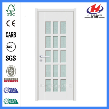 Jhk-G24 Full View 15 Lite Blanca Glass Security Glass Door