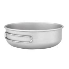 Titanium Bowl Tableware Set Camping Picnic Cookware Set