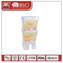 distribuidor de suco plástico 5,3 L * 2