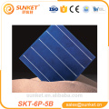 high efficiency poly PID FREE solar cell 5BB solar panel cells