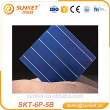 высокая эффективность поли ПИД бесплатные солнечных батарей 5ББ панель солнечных батарей ячейки