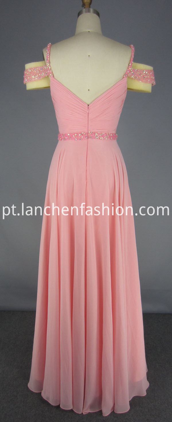 Beading Bridesmaid Dress