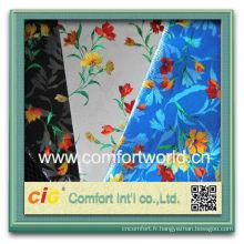 Mode nouvelle conception jolie chenille canapé jacquard tissu non-tissé