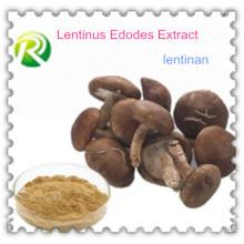 Alta calidad 100% Natural Lentinus Edodes Extracto Lentinan