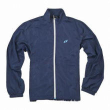 Men's Running Jacket/Tracksuit, OEM/ODM Orders are Accepted