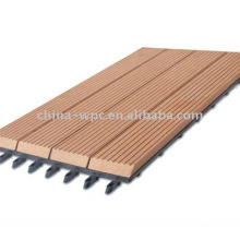 Telha do decking exterior DIY WPC