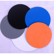 High Quality Cheap Knitted Coaster 100%PP Round Size 10cm