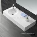 bassin de lavage en pierre artificielle d'une seule pièce, lavabo