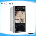 Sapoe Cup Dispenser Coin Acceptor Automatique Distributeur automatique de café