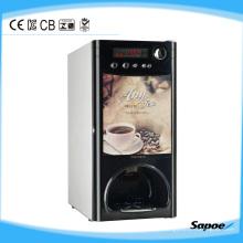 Distribuidor de la taza de Sapoe Aceitador de la moneda Máquina expendedora automática del café