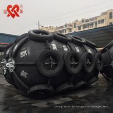 Hecho en China guardabarros de goma flotante del barco de la defensa marina