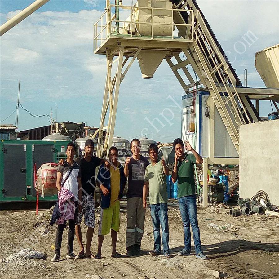 35 Mobile Concrete Batching Plant