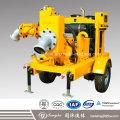 Diesel Engine Self Priming Water Pump with Movable Trolley
