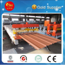 Export Standard PLC Automatic PPGI/Gi Roofing Sheet Roll Forming Machine
