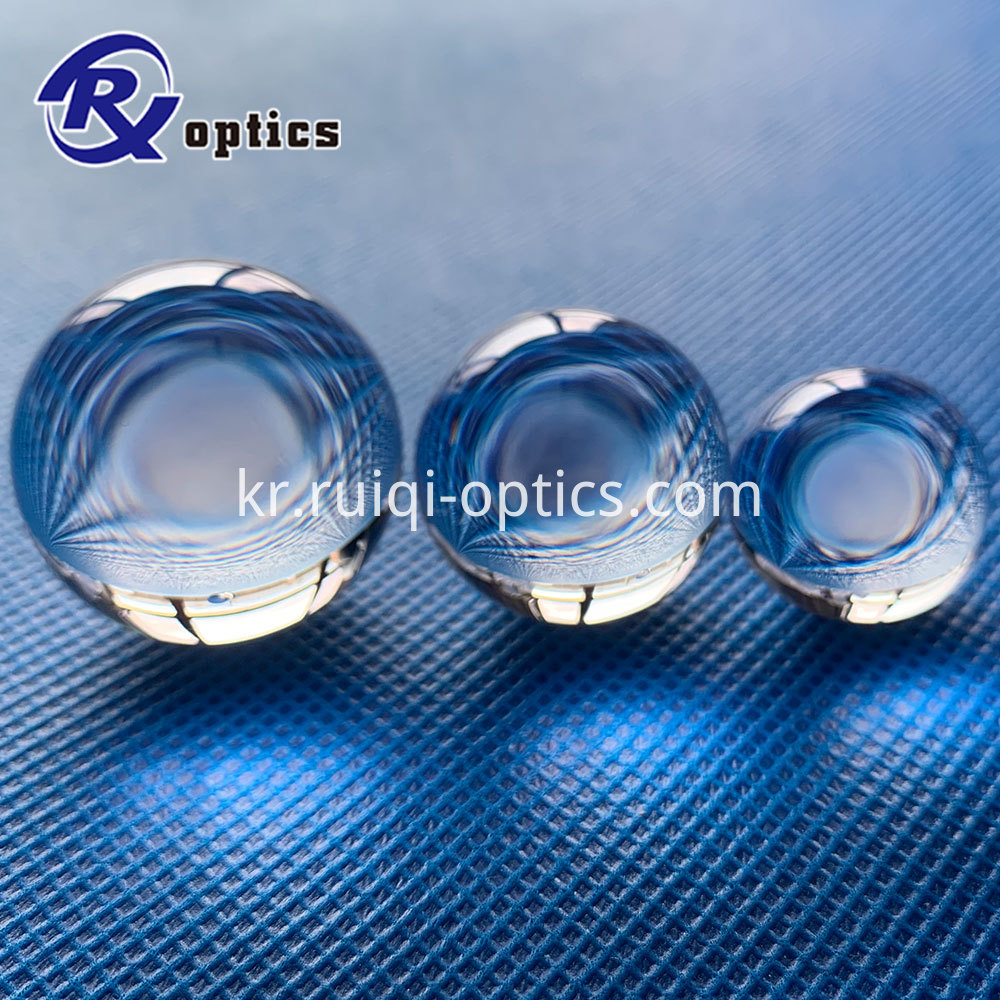 fused silica ball lens