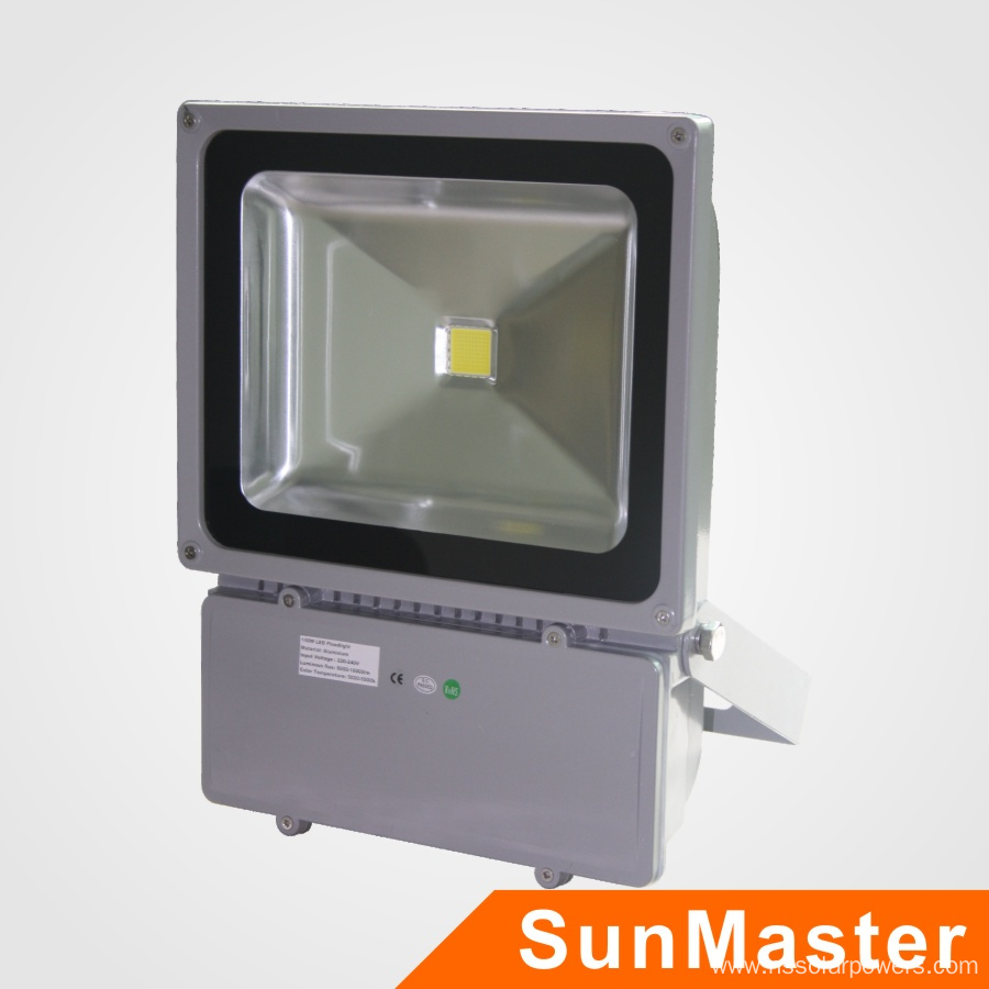 ce rohs approbate 100w led flood light china