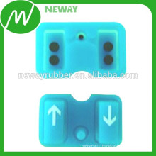 Conductive Silicone Rubber Keypad with Conductive Pill