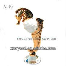 Bonita estatuilla de cristal animal A116