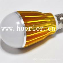 Новый современный 220V 240v b22 e26 e27 базы привели лампы свет E27 привели колбы 7w