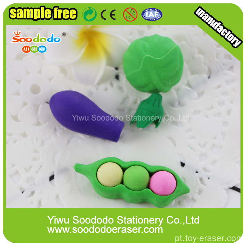 Soododo 3D urso polar Shaped Eraser