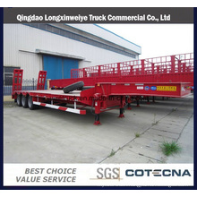 3axles Excavator Transport Gooseneck Low Bed Semi Trailer