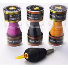 Hot New Products for Disposable Tattoo Cartridge Grip Golden Shark Rubber Tattoo Grip Tubes supply to Nigeria Manufacturers