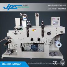 Etiqueta de etiqueta de la máquina de cortar con la función de corte