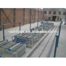 Machines de moulage par panneaux muraux à granulés agrégés EPS