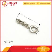 Kundenspezifischer Metallreißverschluss ziehen