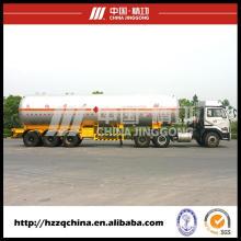 Caminhão de transporte de LPG, Semireboque para o transporte de gás de petróleo liquefeito