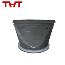 válvula de retención flexible de la boca del pato del pato de goma del reborde
