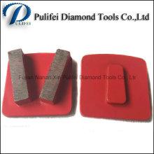 Outils de diamant de surface de plancher en pierre de terrazzo concret de Redi Lock