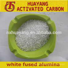 white fused alumina oxide for sandblasting/refractory white fused alumina powder