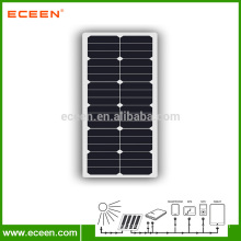 Hot sell 40W Semi Flexible Solar Panel for Motorhome