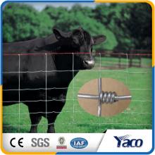 Fácilmente montada 0.8m 1.2m 1.5m 1.8m 2.4m altura galvanizado campo de la granja valla cerca ciervos neto