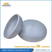 Alloy aluminum seamless 6061T6 3 inch cap