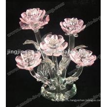 Кристалл Цветок Гвоздики