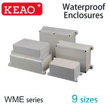 50 tailles différentes en plastique ABS anti-poussière étanche IP65 boîte de jonction coque de projet électrique universel boîtier gris