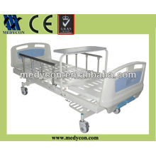 two crank turnable table hospital beds