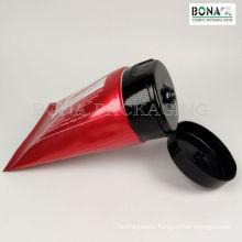 Red Aluminium Plastic Laminated for Cosmetic Tube