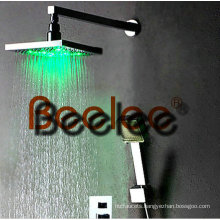 Wall-Mount LED Shower Set
