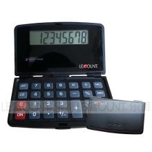 Calculadora de bolsillo de 8 dígitos con cubierta frontal (LC586A)