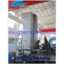 Processamento de metais grandes, acabamento de usinagem