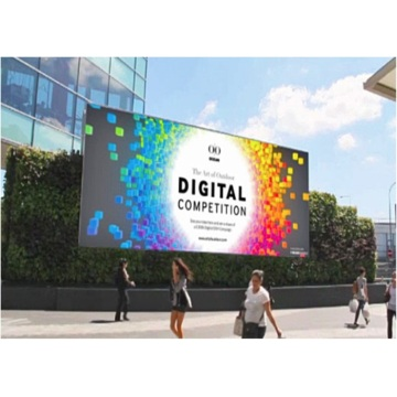 P8mm Full Färg Fast Outdoor Billboard LED Display
