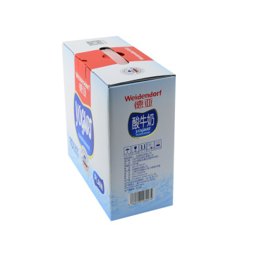 Milk Carton Corrugated Paper Milk Packaging Box