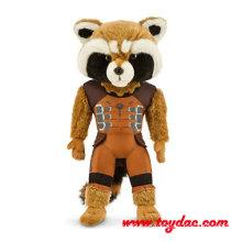 Stuffed Cartoon Movie Racoon Toy