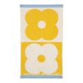 Пятно Цветок Полотенце Домино - Желтый - Полотенце Для Рук,Банное Полотенце ХТ-062