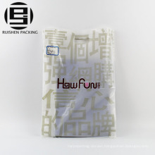 Biodegradable polythene die cut plastic bags