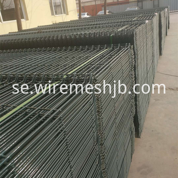 PVC Coated Wire Mesh Panel